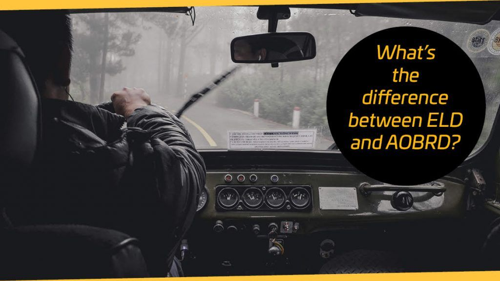 What's the difference between ELD and AOBRD